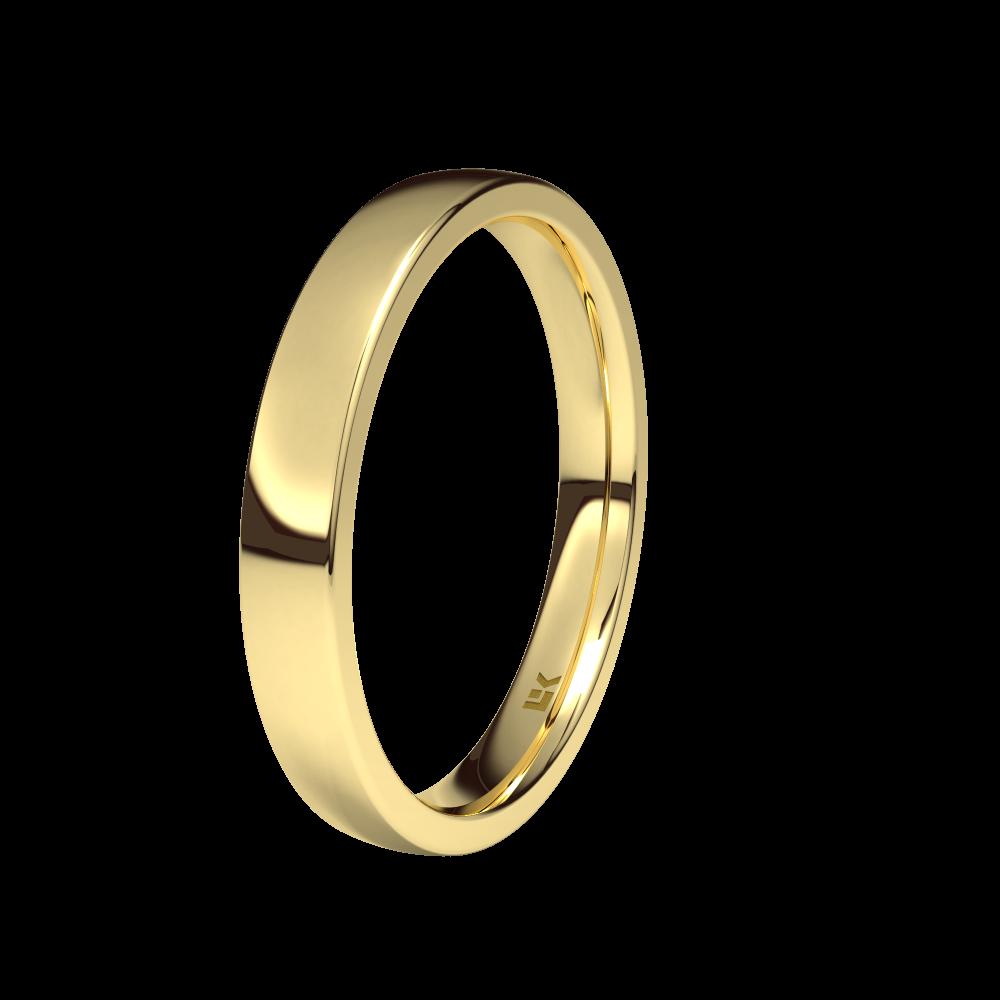 1e4b662f6368 Alianza de oro amarillo de 18K 3.5mm. Brillo - P2-35-1