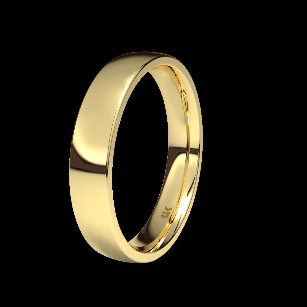 fa998a8d8a62 Alianza de oro amarillo de 18K 4mm. Brillo - 750-P2-40-ES-1A00B00 ...